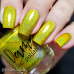 Yep It's Yellow - Seriously Rainbows - Holographic Nail Polish - Holographics - Dam Nail Polish