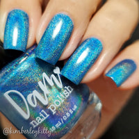 Believe Me Its Blue - Seriously Rainbows - Holographic Nail Polish - Holographics - Dam Nail Polish