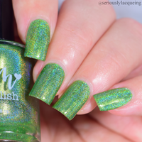 Gotta be Green - Seriously Rainbows - Holographic Nail Polish - Holographics - Dam Nail Polish