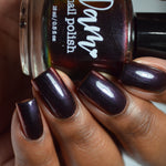 Change of Heart - Black Red Multichrome Polish