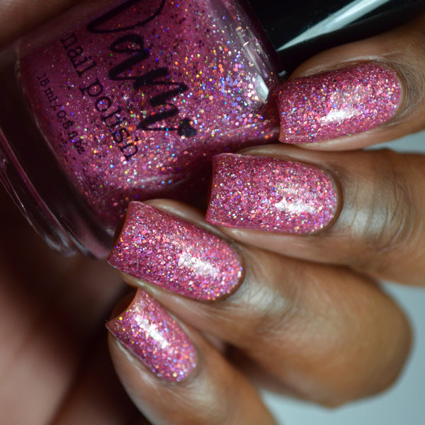 Sugar Crush - Pink Glitter Polish