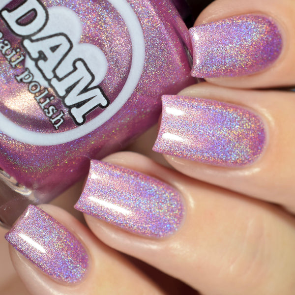 Holo Kitty - Pink Holographic Nail Polish - Holographics - Dam Nail Polish