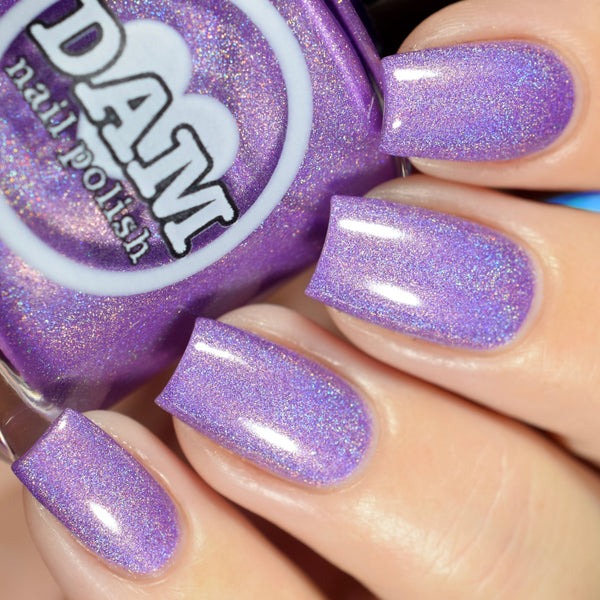 You Had Me @ Holo - Purple Holographic Nail Polish - Holographics - Dam Nail Polish