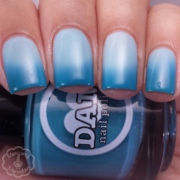 Teal Next Time - Teal Blue Thermal Nail Polish - Thermals - Dam Nail Polish