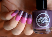 Exotic Horizon - Deep Purple Thermal Nail Polish - Pink Thermal Nail Polish - Thermals - Dam Nail Polish