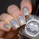 Diamond - Silver Holographic Polish - Gemstone Collection Pt. 2 - Holographics - Dam Nail Polish
