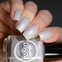 Pearl - Pearl White Holographic Polish - Gemstone Collection Pt. 2 - Holographics - Dam Nail Polish