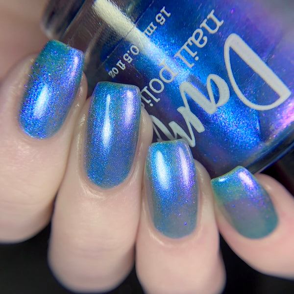 What UV is What You Get - Multichrome Nail Polish - One Salty Beach Collection - Dam Nail Polish