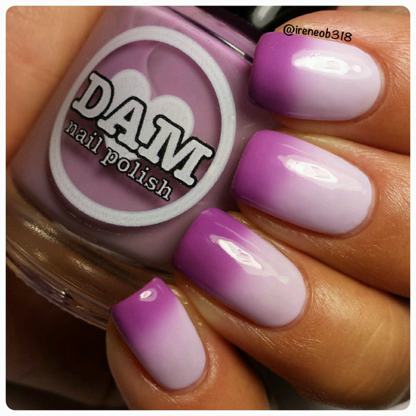 Iris of the Beholder - Purple Thermal Nail Polish - Thermals - Dam Nail Polish