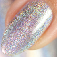 GIRRL Can I Holo? - Silver Holographic Nail Polish - Holographics - Dam Nail Polish
