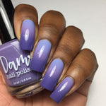 Purple Haze - Dark Purple - Light Purple Thermal - Cocktail Party - Thermals - Dam Nail Polish