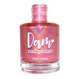 Really Red - Seriously Rainbows - Holographic Nail Polish - Holographics - Dam Nail Polish