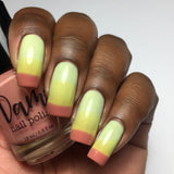 Sour Appletini - Red - Yellow - Light Green Thermal - Cocktail Party - Thermals - Dam Nail Polish