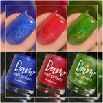 *Gemstone Collection Pt. 3 - Birthstone Holographic Polish Collection - Holographics - Dam Nail Polish