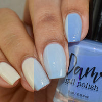 Petal to the Metal Collection - Solar Nail Polish - White Nail Polish - Dam Nail Polish