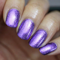 Today's a Grape Day - Purple Metallic Nail Polish - Precious Metals Collection - Metallic Flake - Dam Nail Polish