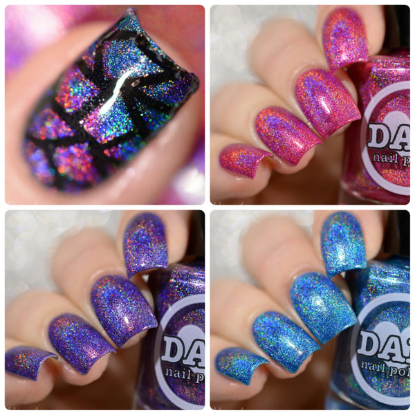Gemstone Collection Pt. 1 - Holographic Polish Collection - Holographics - Dam Nail Polish