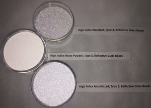 High Index Reflective Bead Variety Sample Packs - Type 3