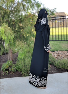 zareen collection luxury designer abayas leyah embroidered abaya in black muslim dress muslim clothing modest fashion modest clothing islamic clothing muslimah wear abaya buth abaya addict annah hariri shukr islamic clothing modanisa sefamerve modern abaya khaleeji abaya stylish abaya jilbab hijab style abaya style hijabista abaya blogger muslim fashion islamic fashion modesty is elegance