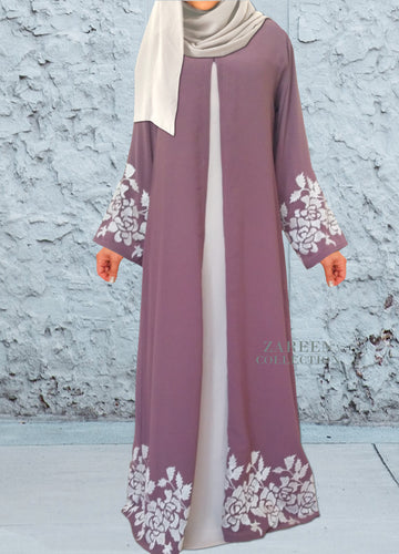zareen collection leyah embroidered abaya, luxury designer abayas, buy abayas online, hijab shop, abaya shop, modest clothing, modest wear, islamic clothing, muslim clothing, islamic fashion, open abaya, stylish new design abaya, colored abaya, muslim dress, hijabi fashion, fashionista, usa fashion, uk fashion, islam, muslim, clothing