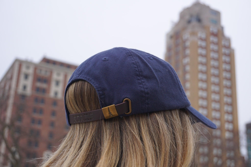 Hat - Navy - Back