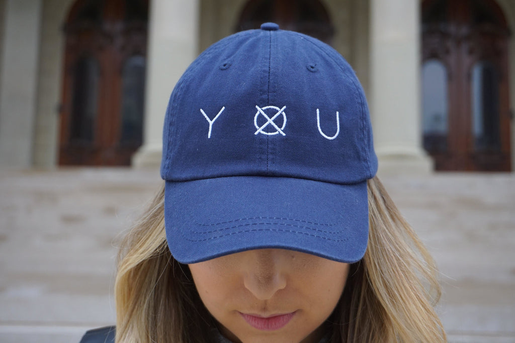 Hat - Navy - Close-up