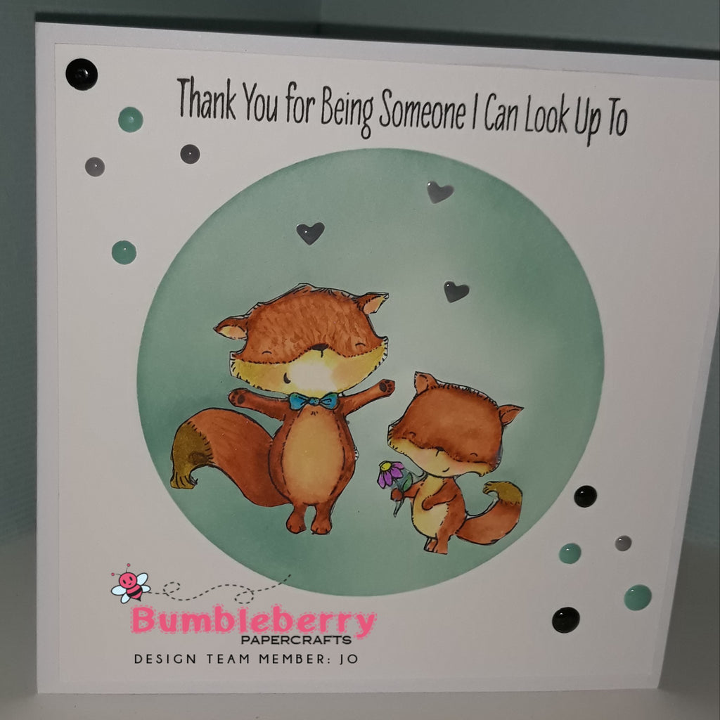 Friendly Foxes from MFT To Create a Perfect Fathers Day Card For Those Dads, Granddads and Step Dads!!!