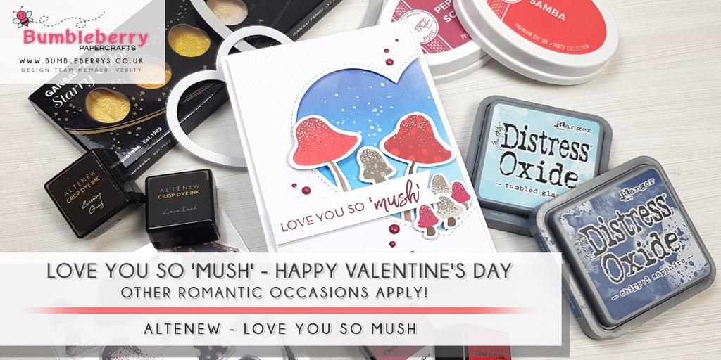 Love you so 'Mush' - Happy Valentine's Day!!