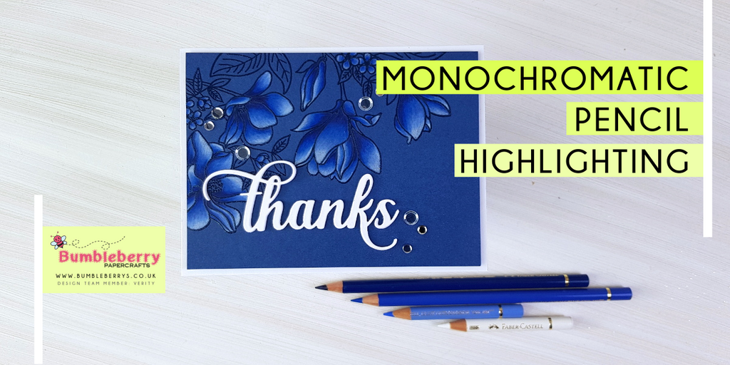 Monochromatic Pencil highlighting - MFT Floral Focus