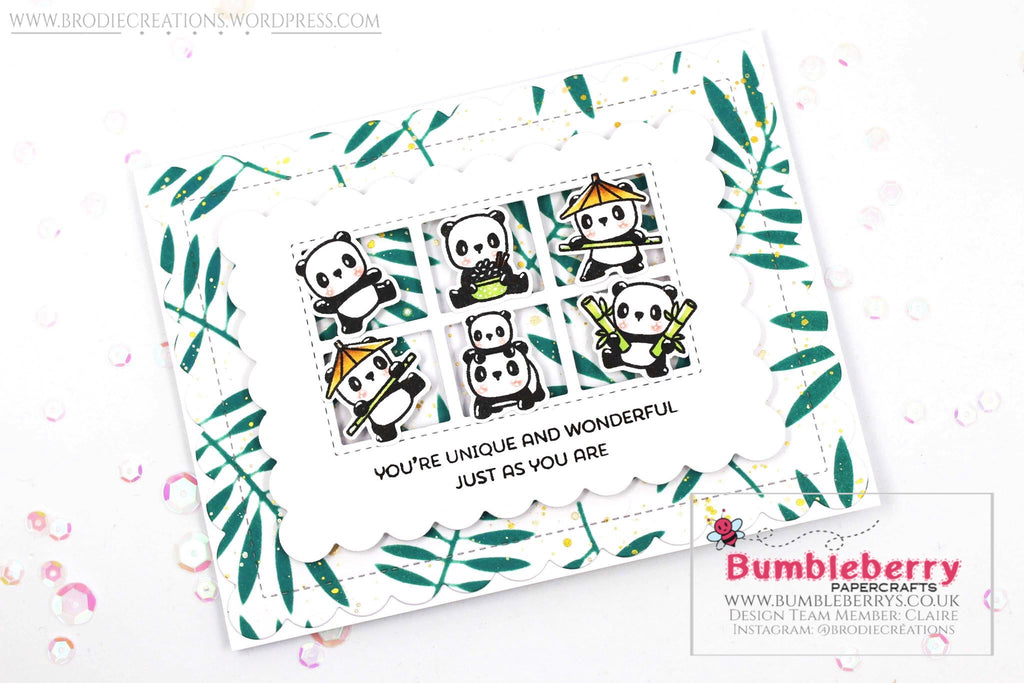 "Just Because Card Using Mama Elephant's ""Little Panda Agenda"" Stamp Set!"
