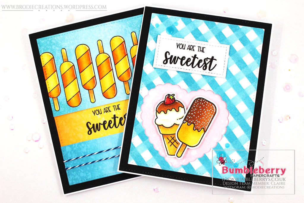 "Two Cards Using Avery Elle's ""Sweetest"" Stamp Set!"