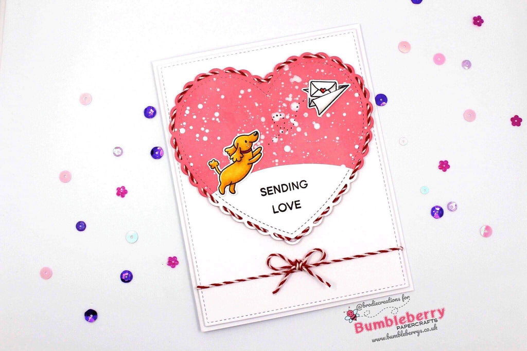 "Sending Love With Heffy Doodle ""Yappy Happy Mail"" Set!"