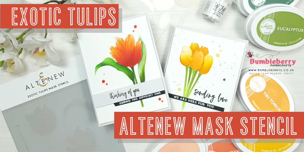 Altenew Mask Stencil - Exotic Tulips