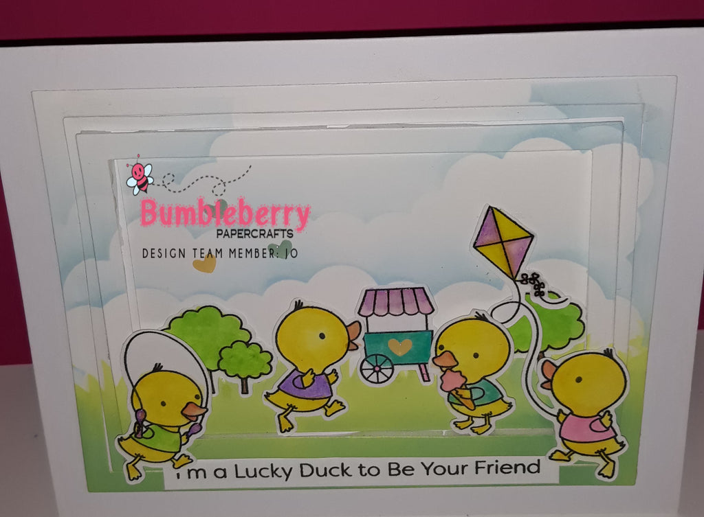Just Ducky I'm Prepared for Easter, Using Pastel Hues, for A Spring Like Feel, To my cards.