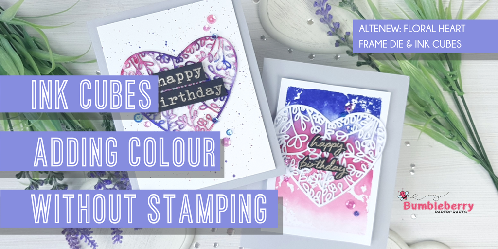 Ink cubes: Adding colour without stamping