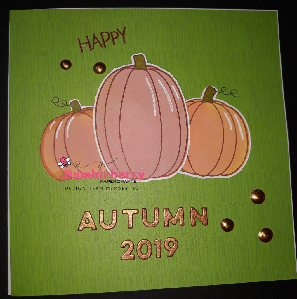 Happy Autumn 2019, Using Honey Bee Stamps and Stencils