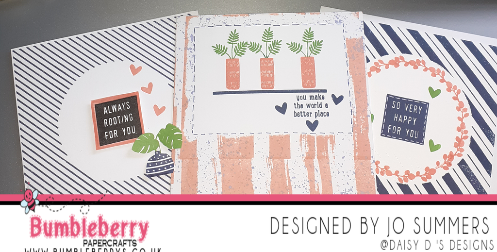 Adapting Your Background Stamps, to create a simple but effective aperture card to your design. (Featuring Concord and 9th, Stamps, and Inks).