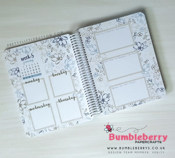 Stamping with your Bullet Journal – Bumbleberry Papercrafts