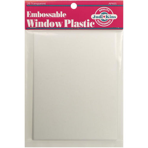 Judikins Embossable Window Plastic