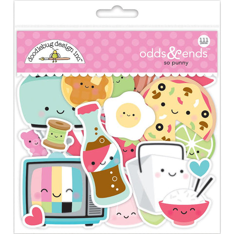 Doodlebug Die Cuts Odds & Ends - So Punny