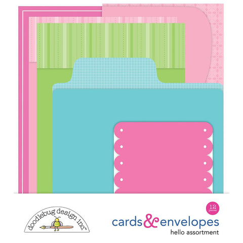 Doodlebug Create A Card Kit  - Hello