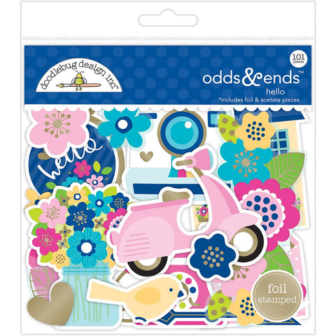 Doodlebug Die Cuts Odds & Ends - Hello