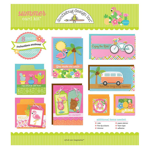 Doodlebug Designer Card Kit - Summer