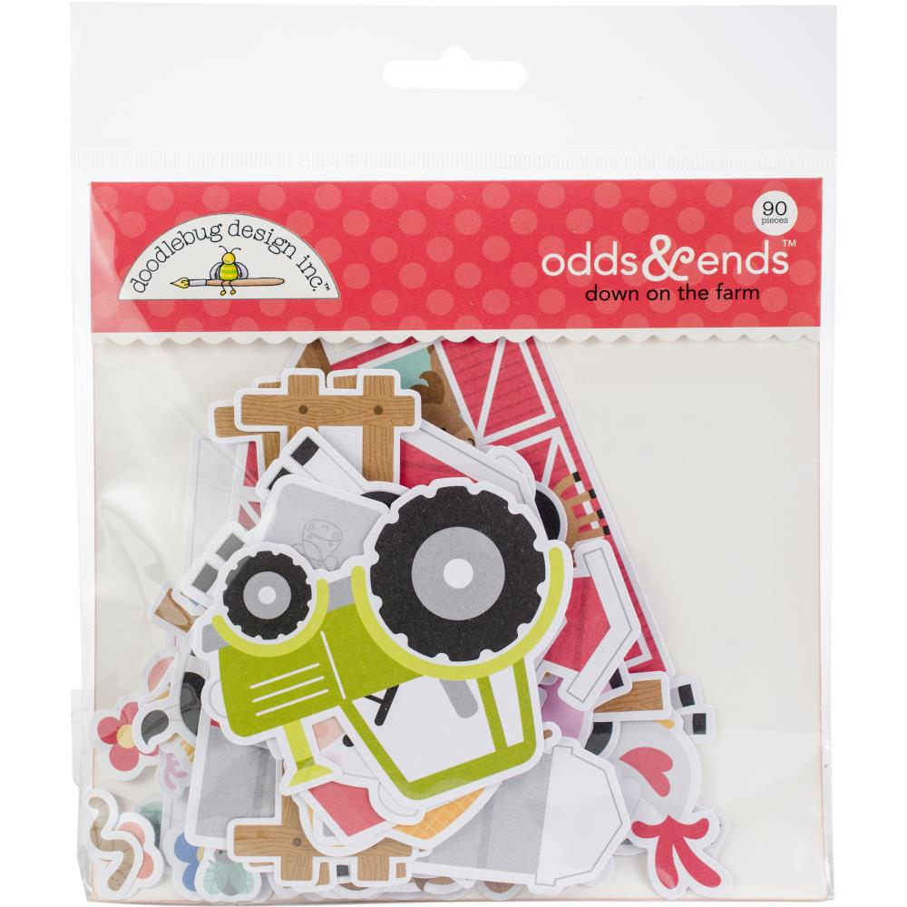 Doodlebug Die Cuts Odds & Ends - Down On The Farm