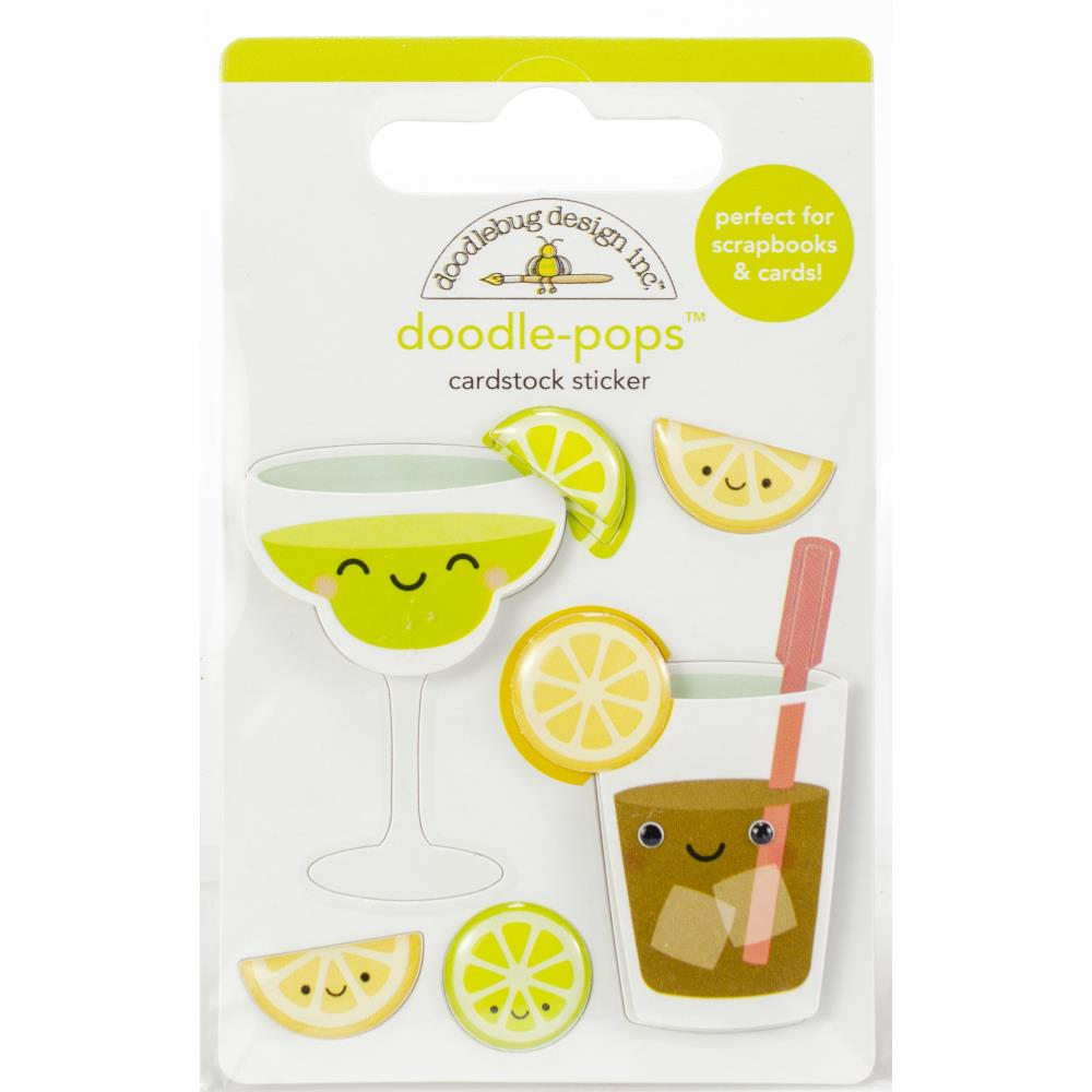 Doodle Pops 3d Sticker - Sippers