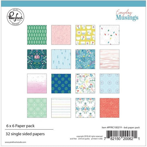 Everyday musings: 6 x 6 collection paper pack