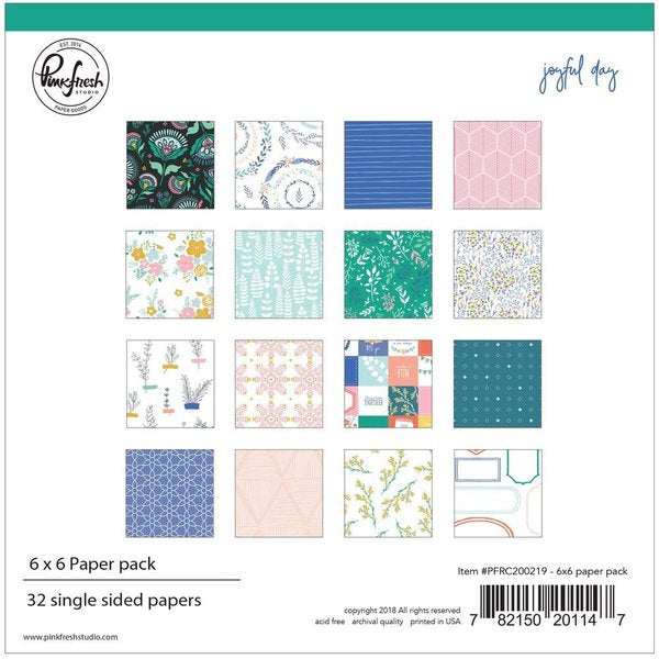 Joyful day: 6 x 6 collection paper pack