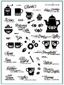 Clear Stamps Coffee