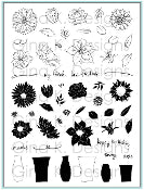 Clear Stamps Fabulous Flowers