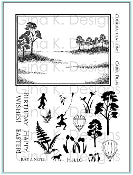 Clear Stamps Framescapes Simply Spring